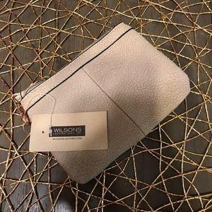 Wilson's Leather Tan Wristlet
